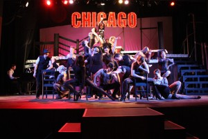 Laura Sheehan in production of Chicago