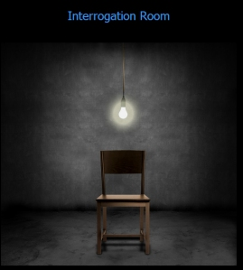 Kathy Bennett's Interrogation Room - Laura Sheehan