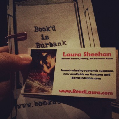Book'd in Burbank - Laura Sheehan - Dancing with Danger